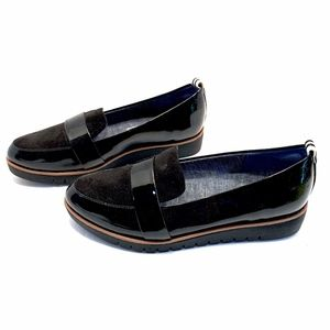 Dr. Scholl's Imagined Women's Black Patent Loafers